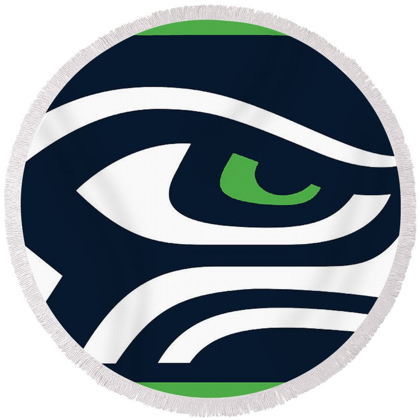 Seattle Seahawks - Round Beach Towel