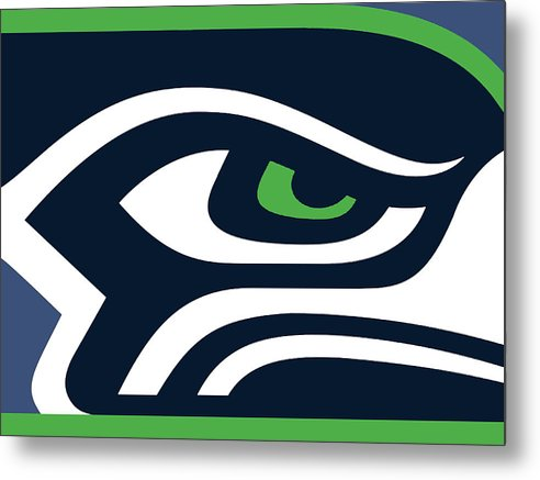 Seattle Seahawks - Metal Print