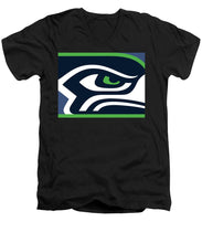Seattle Seahawks - Men's V-Neck T-Shirt