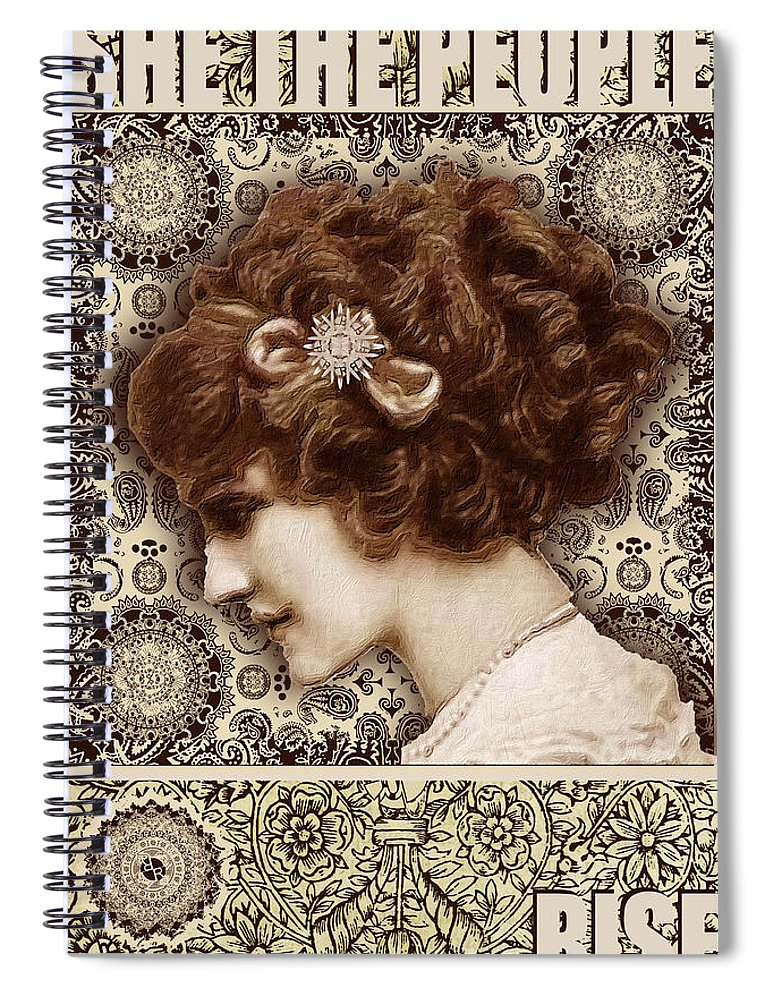 She The People 2 - Spiral Notebook