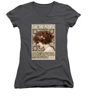 She The People 2 - Women's V-Neck (Athletic Fit)