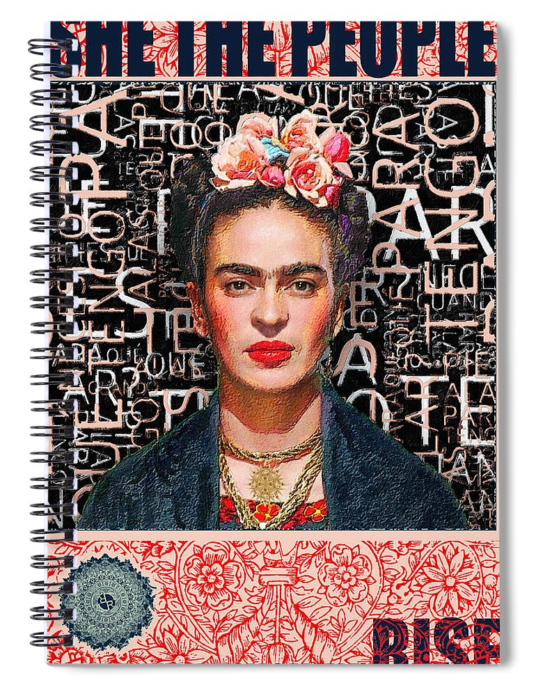 She The People Frida - Spiral Notebook