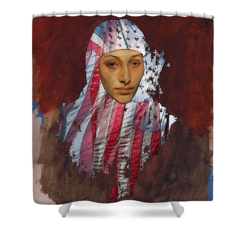 She The People - Shower Curtain