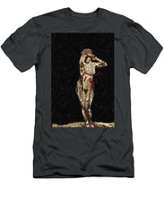 She's Made Of Armor - Men's T-Shirt (Athletic Fit)