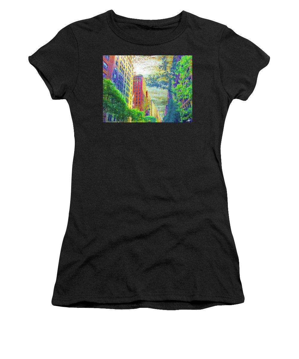 Silently Loud - Women's T-Shirt (Athletic Fit)