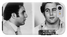 Son Of Sam David Berkowitz Mug Shot 1977 Horizontal  - Phone Case