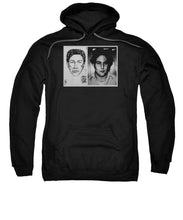 Son Of Sam David Berkowitz Mug Shot And Police Sketch - Sweatshirt