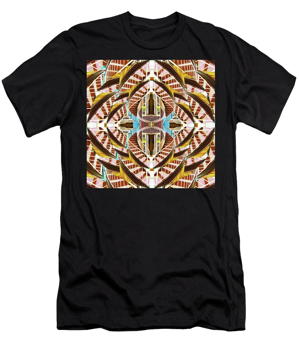 Spiral Staircase - Men's T-Shirt (Athletic Fit)