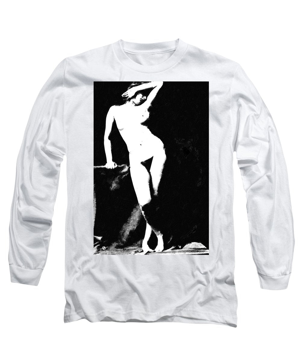 Standing Nude - Long Sleeve T-Shirt