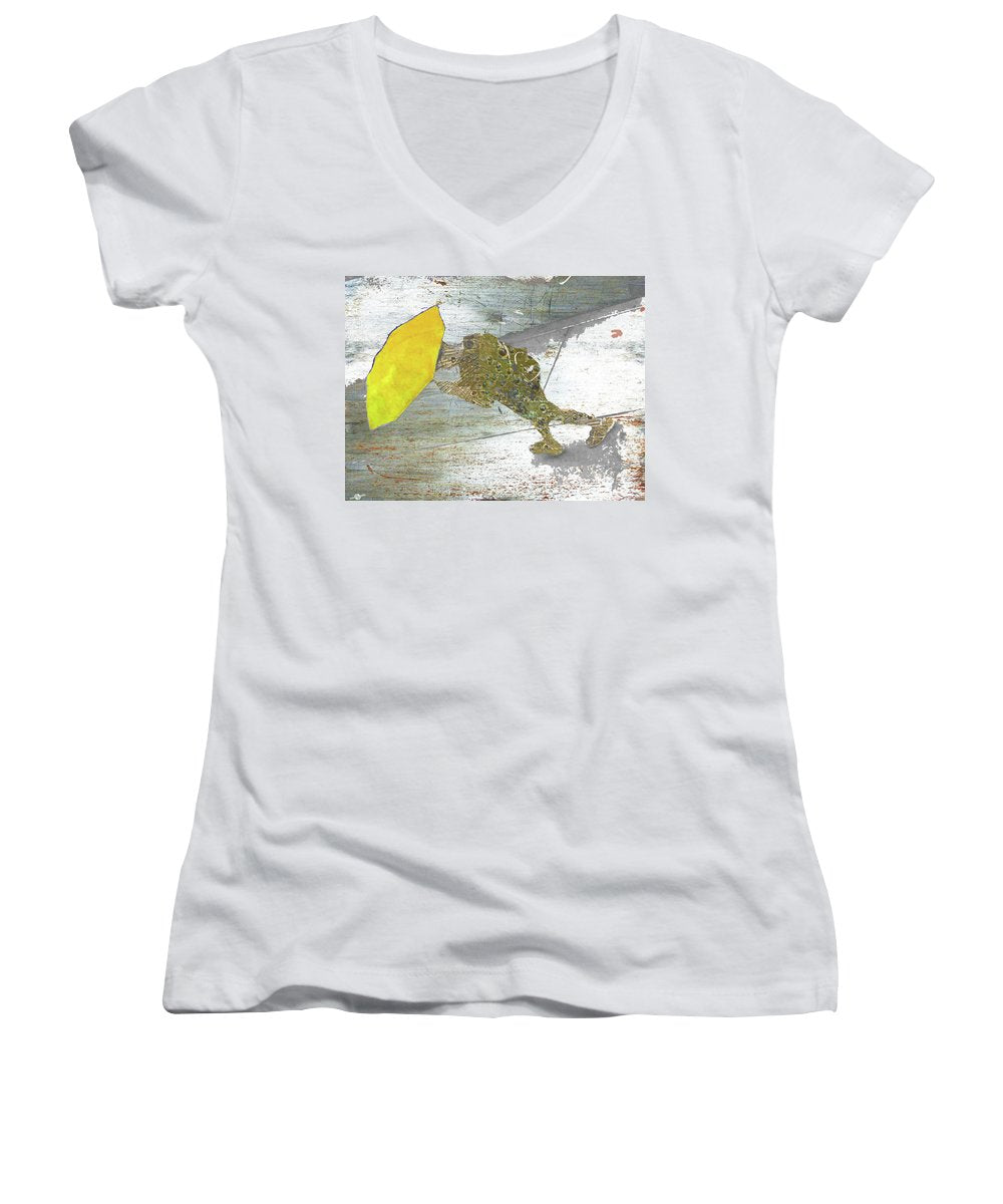 Sunny - Women's V-Neck (Athletic Fit)