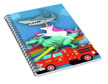 Super Terrific Freakin Awesome - Spiral Notebook