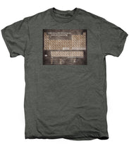 Tableau Periodiques Periodic Table Of The Elements Vintage Chart Sepia - Men's Premium T-Shirt