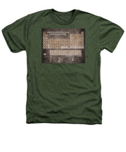 Tableau Periodiques Periodic Table Of The Elements Vintage Chart Sepia - Heathers T-Shirt