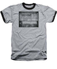 Tableau Periodiques Periodic Table Of The Elements Vintage Chart Silver - Baseball T-Shirt