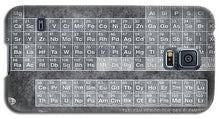 Tableau Periodiques Periodic Table Of The Elements Vintage Chart Silver - Phone Case