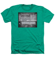 Tableau Periodiques Periodic Table Of The Elements Vintage Chart Silver - Heathers T-Shirt