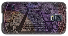 The Color Of Mason Money Close Up 1 Dollar Us 1 - Phone Case