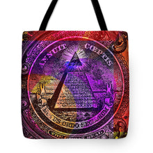 The Color Of Mason Money Close Up 1 Dollar Us 5  - Tote Bag