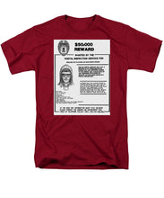Unabomber Ted Kaczynski Wanted Poster 1 - Men's T-Shirt  (Regular Fit)