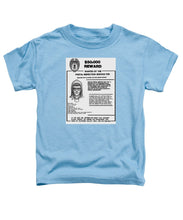 Unabomber Ted Kaczynski Wanted Poster 1 - Toddler T-Shirt
