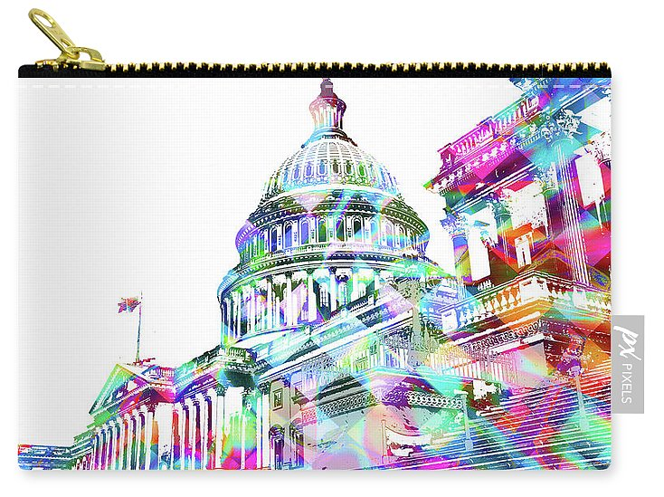 Washington Capitol Color 2 - Carry-All Pouch