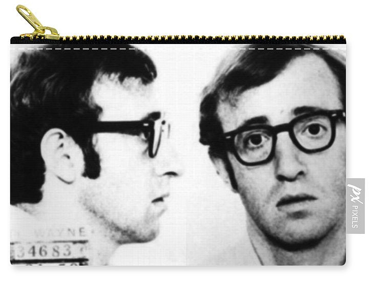 Woody Allen Mug Shot For Film Character Virgil 1969 - Carry-All Pouch