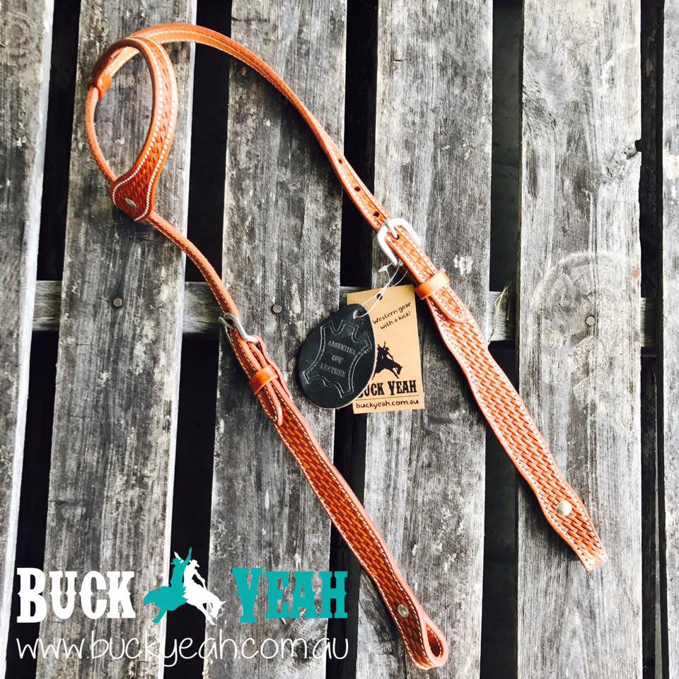 Leather 1 ear bridle