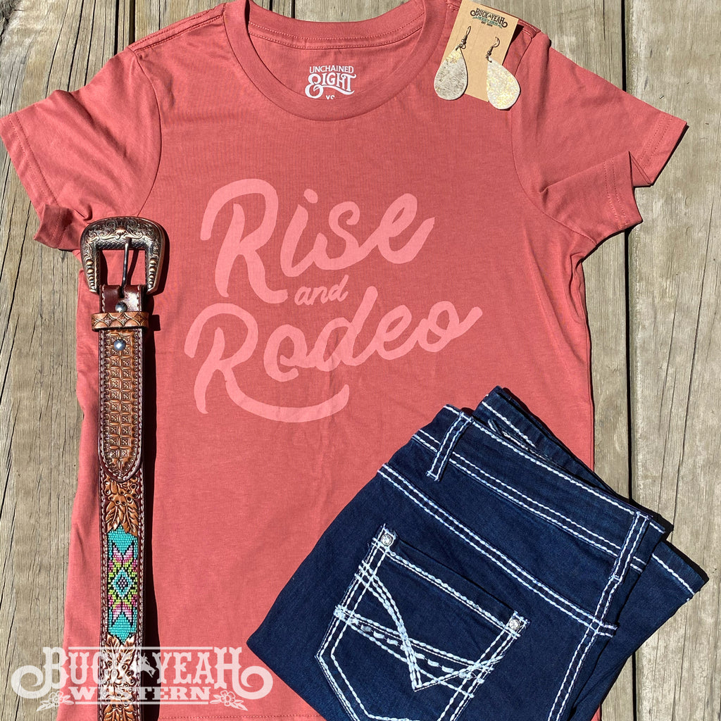 Coral Rise & Rodeo Tee