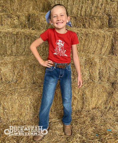 Girls Outback Wild Child Jeans - Cassidy Jnr
