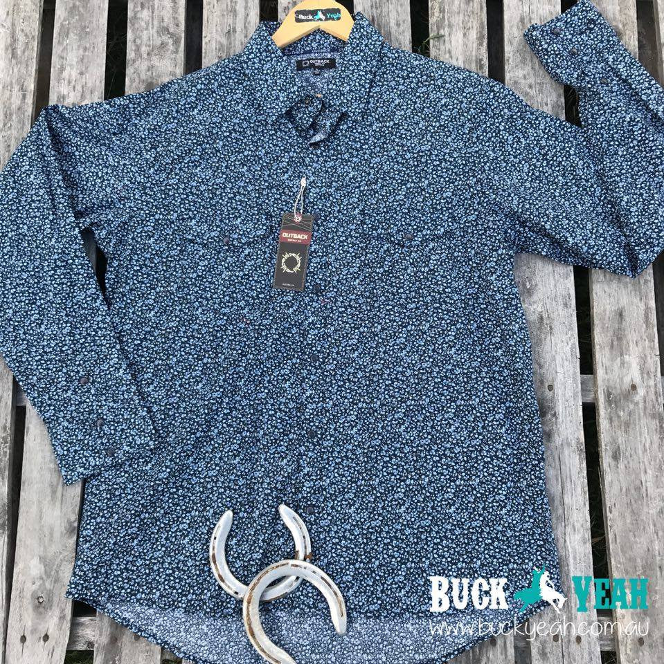 Mens Maverick Shirt - Navy