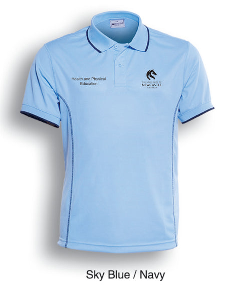 LADIES University of Newcastle HP&E Polo Shirt - SKY