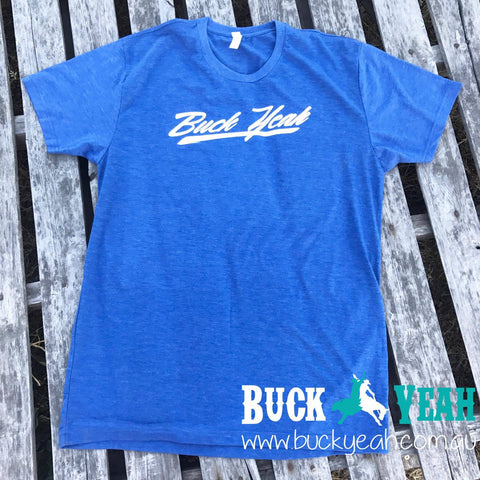 Buck Yeah Mens Crew Neck Tee