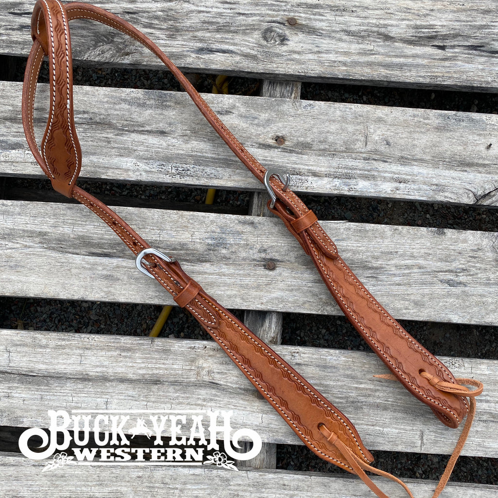 Barbed Wire Tooling Headstall