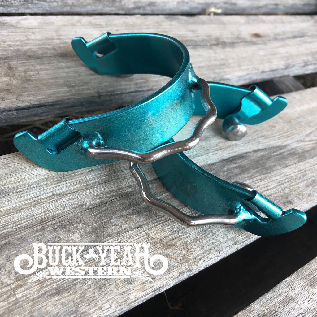 Colour coated aluminium bumper spurs