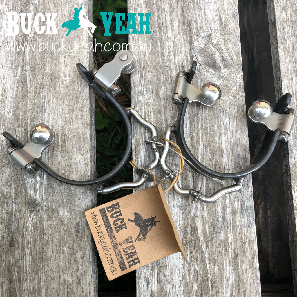 Ladies/Youth Bumper Spurs with Rowels