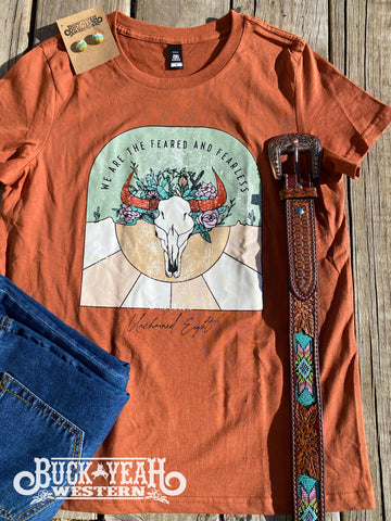 Unchained Eight Maple Feared & Fearless Tee