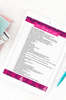 40+ Things to Sell {Printable}