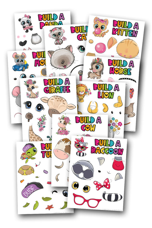 Build an Animal {10 pages}