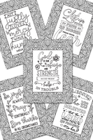 Christian Faith Coloring Sheets