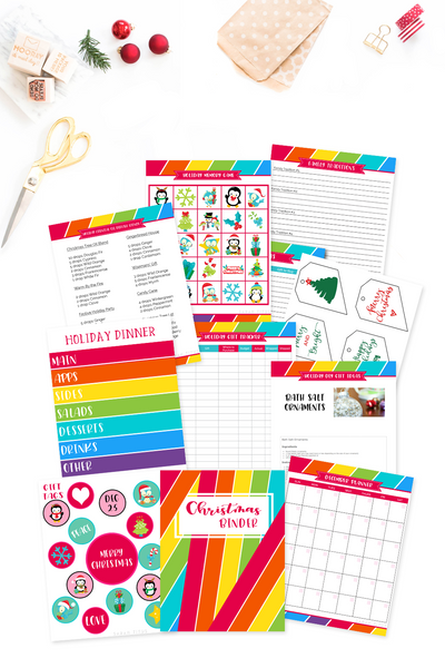 Christmas Binder {80+ pages}