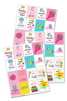 Cute Block Stickers
