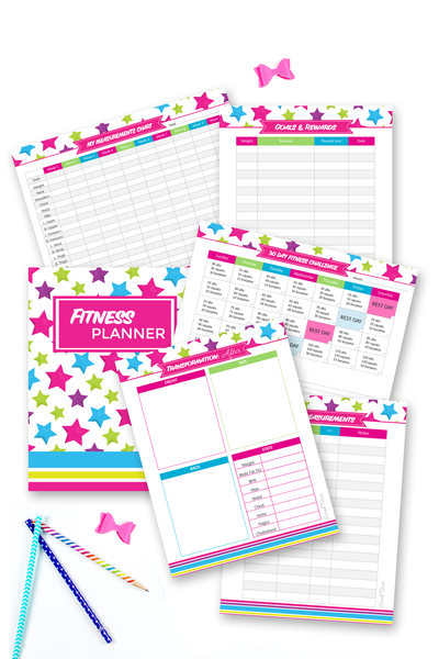 Fitness Planner {9 pages}