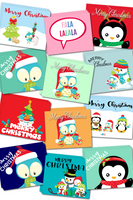 Christmas Greeting Cards {Set of 10}