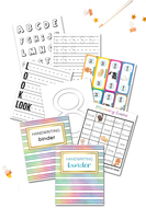 Handwriting Binder
