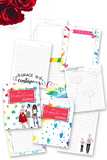 Happy Rainbow Journal {220+ pages}