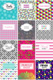 Home Binder Covers & Dividers Sets