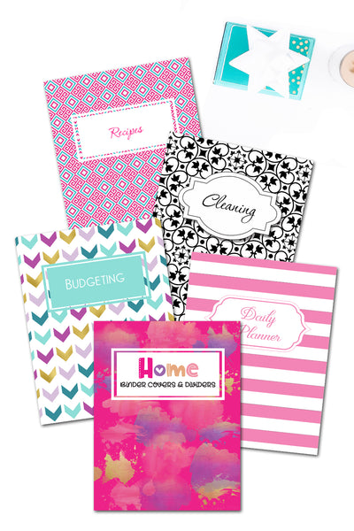 Home Binder Covers & Dividers {430+ pages}