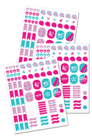 Household Binder Stickers