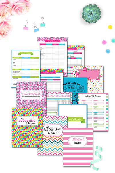 Household Bundle {340+ pages}