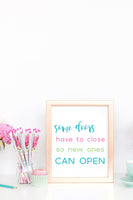 20 Inspirational Quote Wall Art Printables (Color & B/W)